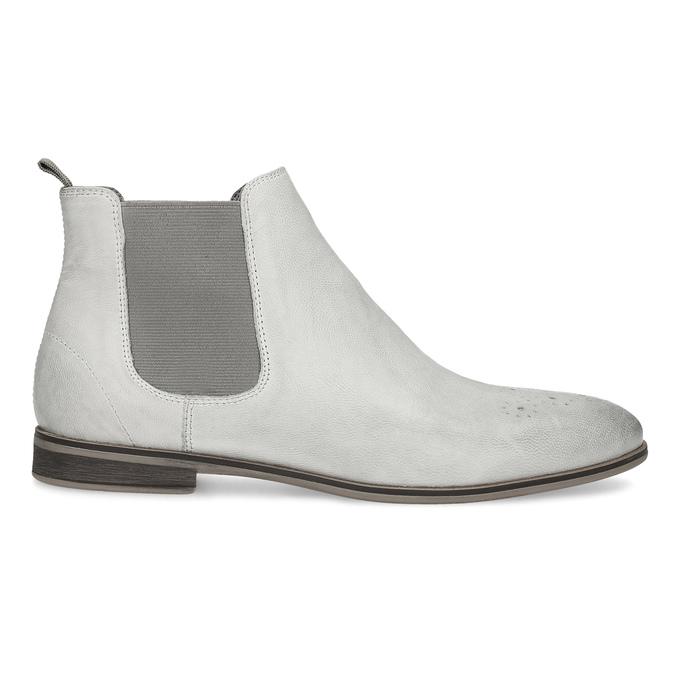 Skórzane obuwie damskie typu chelsea bata, szary, 596-1684 - 19