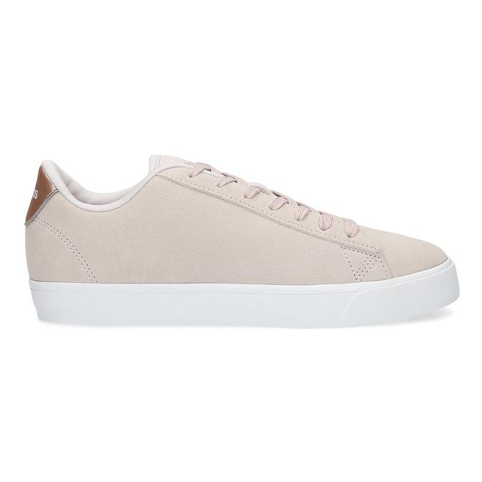 Różowe zamszowe trampki adidas, różowy, 503-2554 - 19