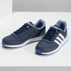 Granatowe trampki dziecięce adidas, niebieski, 401-9181 - 16