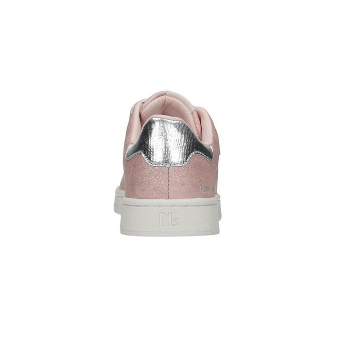 Różowe nieformalne trampki damskie north-star, różowy, 549-5604 - 15