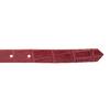 Czerwony skórzany pasek damski bata, czerwony, 954-5204 - 16