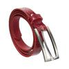 Czerwony skórzany pasek damski bata, czerwony, 954-5204 - 13
