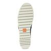 Skórzane slip-on na elastycznej podeszwie flexible, niebieski, 536-9602 - 18