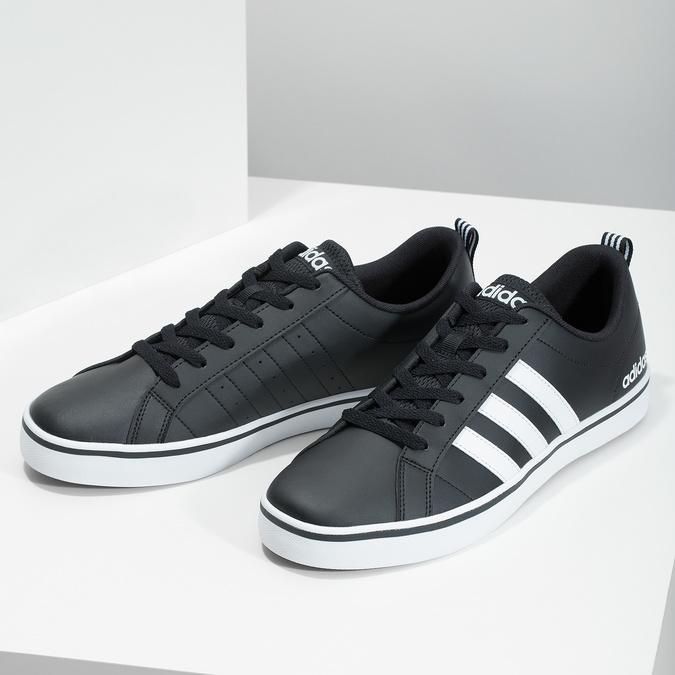 Nieformalne trampki męskie adidas, czarny, 801-6136 - 16