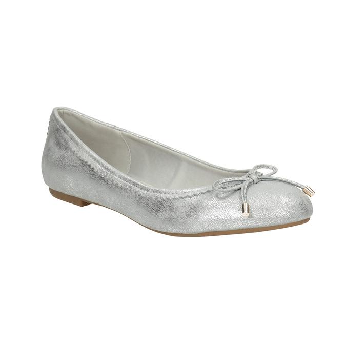 Srebrne baleriny zkokardami bata, 521-1611 - 13