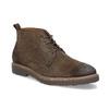 Skórzane obuwie wstylu chukka bata, brązowy, 823-4627 - 13