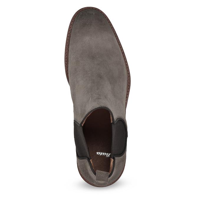 Skórzane obuwie typu chelsea na grubej podeszwie bata, 823-8628 - 17