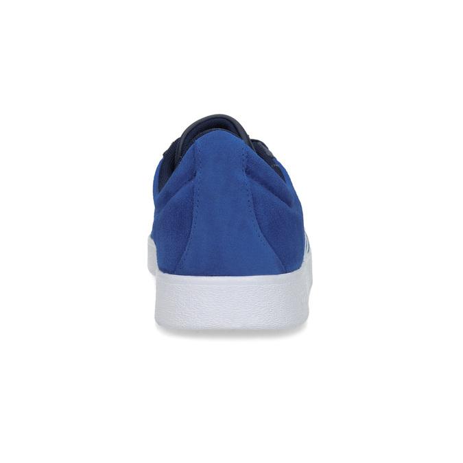 Niebieskie zamszowe trampki adidas, niebieski, 803-9979 - 15