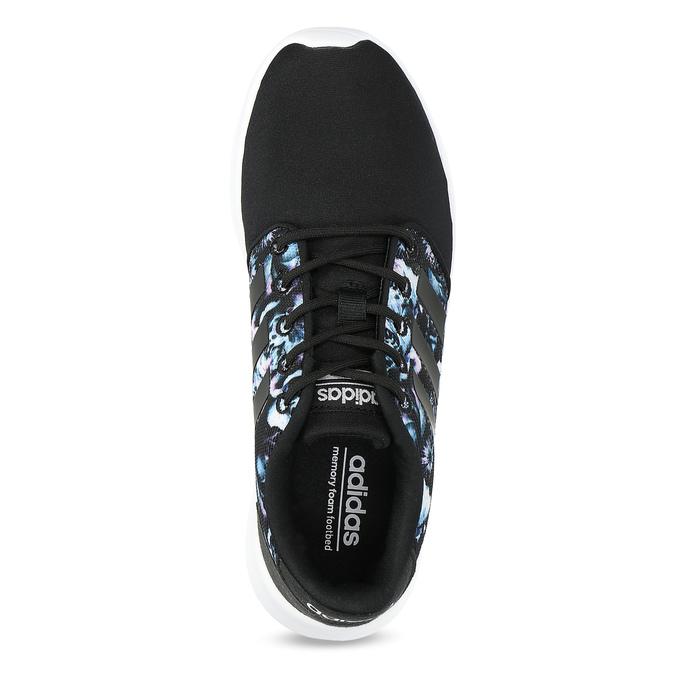 Trampki zkolorowym deseniem wkwiaty adidas, czarny, 509-6212 - 17