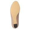Czółenka na niskich koturnach bata, beżowy, 629-8633 - 19