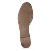 Brązowe mokasyny damskie zwędzidłami bata, brązowy, 516-3615 - 18
