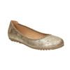 Złote baleriny damskie bata, 529-8640 - 13
