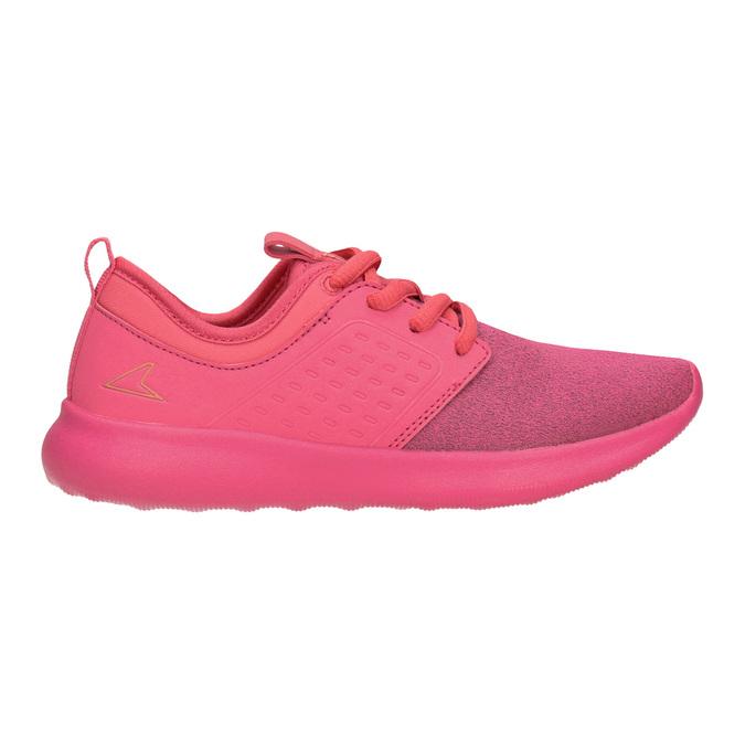 Różowe trampki dziecięce power, różowy, 309-5202 - 26