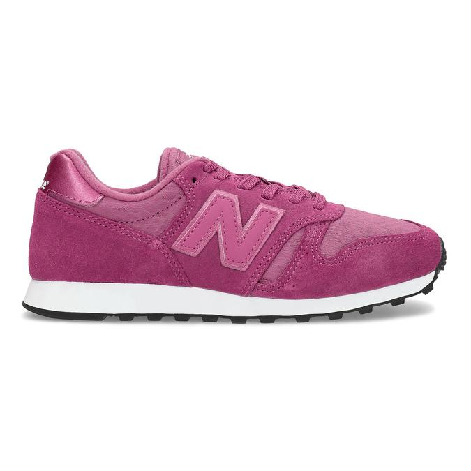 Różowe trampki damskie wsportowym fasonie new-balance, różowy, 503-5874 - 19