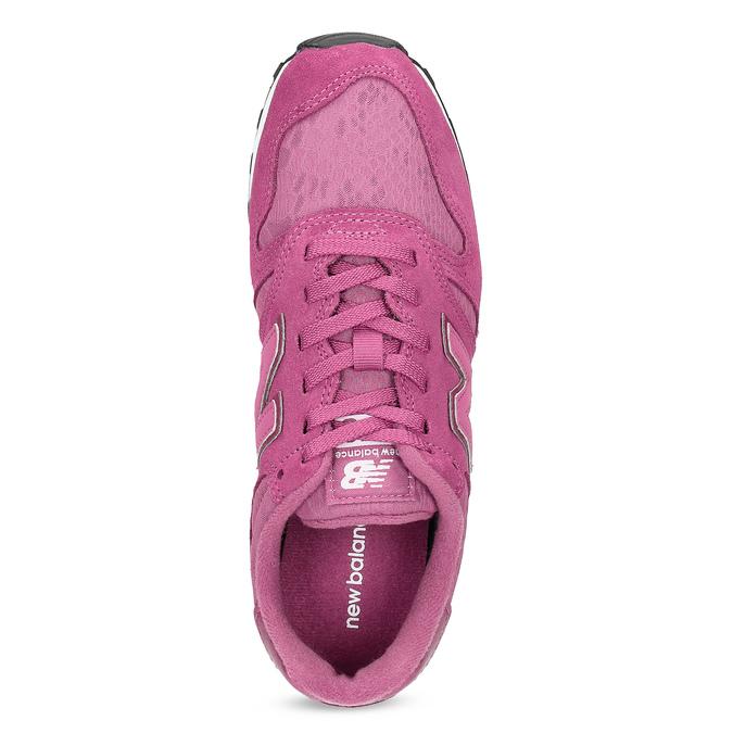 Różowe trampki damskie wsportowym fasonie new-balance, różowy, 503-5874 - 17