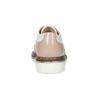 Półbuty dziewczęce ze zdobieniami brogue mini-b, różowy, 321-5244 - 15
