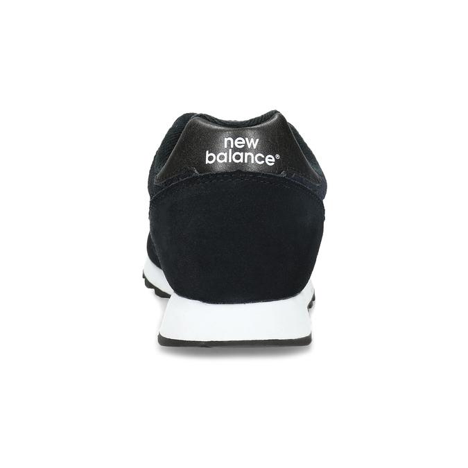 Czarne trampki damskie wsportowym stylu new-balance, czarny, 503-6874 - 15
