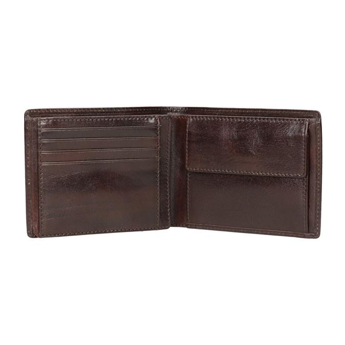 Skórzany portfel męski bata, brązowy, 944-4191 - 15