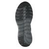 Szare trampki męskie wsportowym fasonie power, czarny, 809-6853 - 17