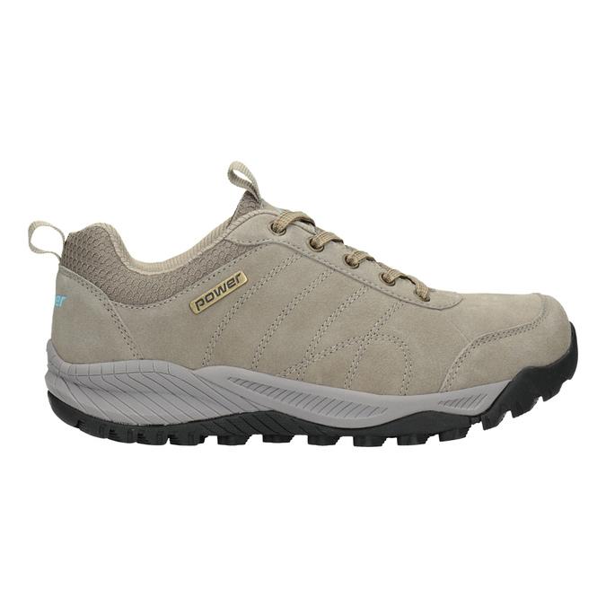 Skórzane obuwie wstylu outdoor power, beżowy, 503-3848 - 26