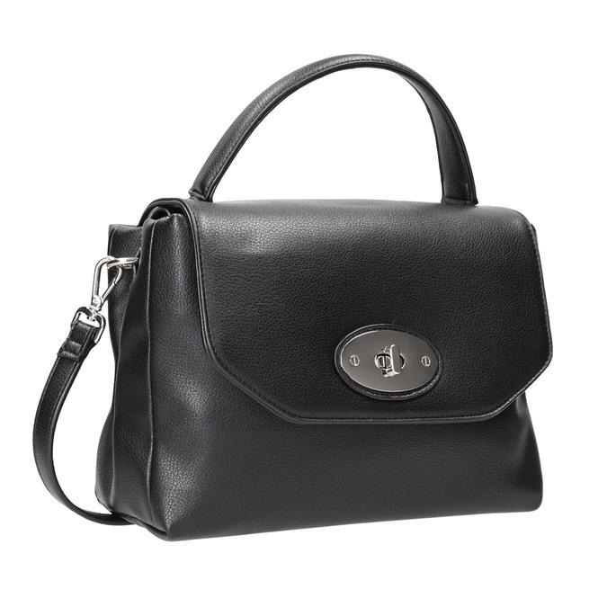 Czarna torebka damska bata, czarny, 961-6839 - 13