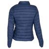 Granatowa pikowana kurtka zkołnierzykiem bata, niebieski, 979-9182 - 26