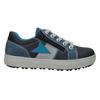 Niebieskie skórzane trampki chłopięce mini-b, niebieski, 416-9603 - 26