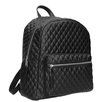 Pikowany plecak miejski bata, czarny, 961-6923 - 13