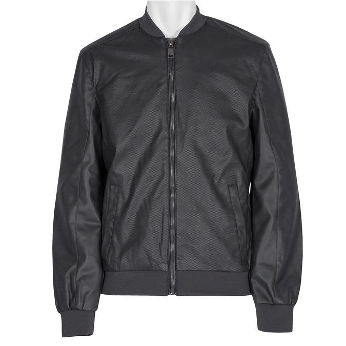 Perforowana kurtka męska bata, czarny, 971-9197 - 13