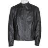 Czarna skórzana kurtka męska bata, czarny, 974-6134 - 13