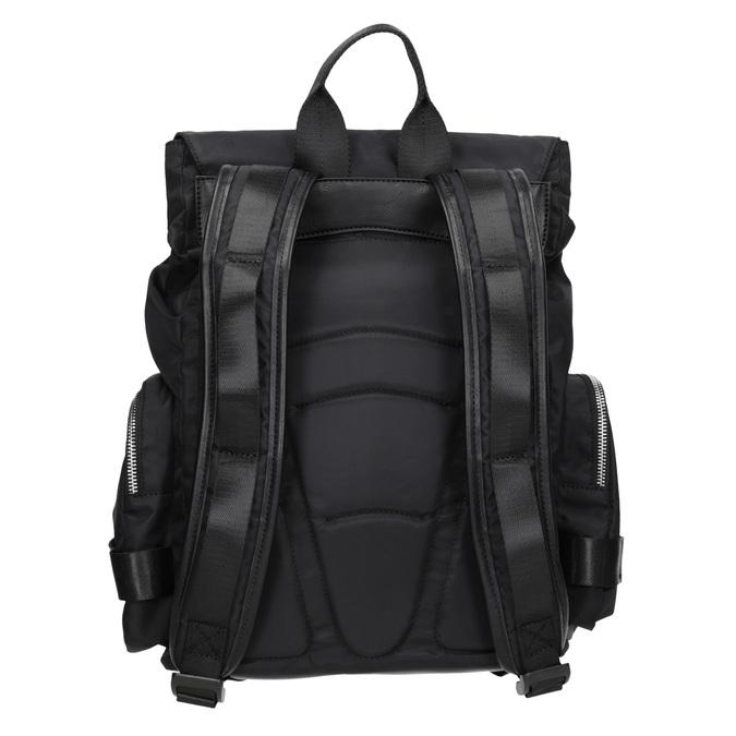 Czarny plecak męski zmateriału tekstylnego atletico, czarny, 969-6677 - 16