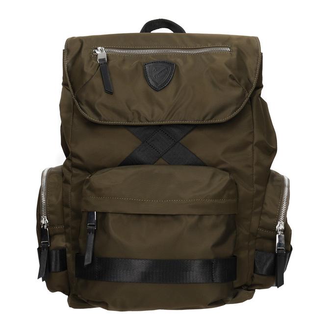 Plecak męski zmateriału tekstylnego wkolorze khaki, khaki, 969-3677 - 26