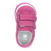 Różowe skórzane trampki dziewczęce bubblegummer, 123-5607 - 15