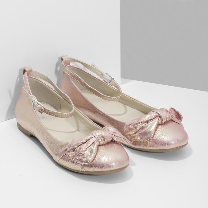 Różowe baleriny zdużymi kokardami mini-b, różowy, 329-5227 - 26