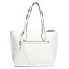 Niewielka biała torebka typu shopper gabor-bags, biały, 961-1016 - 16
