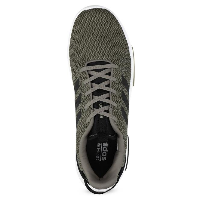 Trampki męskie wkolorze khaki adidas, khaki, 809-7201 - 17