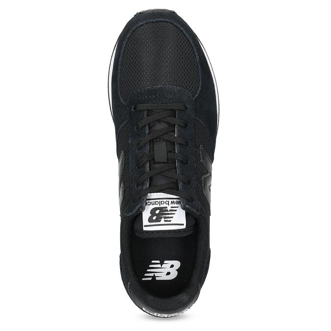 Czarne trampki damskie wsportowym stylu new-balance, czarny, 509-6871 - 17