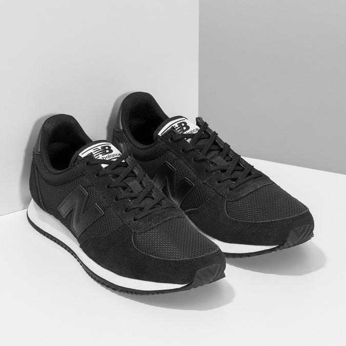 Czarne trampki damskie wsportowym stylu new-balance, czarny, 509-6871 - 26