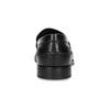 Czarne skórzane mokasyny męskie bata, czarny, 814-6128 - 15