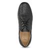 Czarne półbuty męskie na wygodnej podeszwie comfit, czarny, 824-6996 - 17