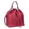 Czerwona torebka bucket bag bata, czerwony, 961-5298 - 13