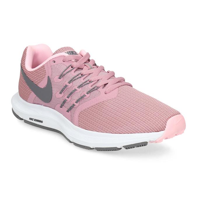 Różowo-szare trampki damskie nike, różowy, 509-5854 - 13