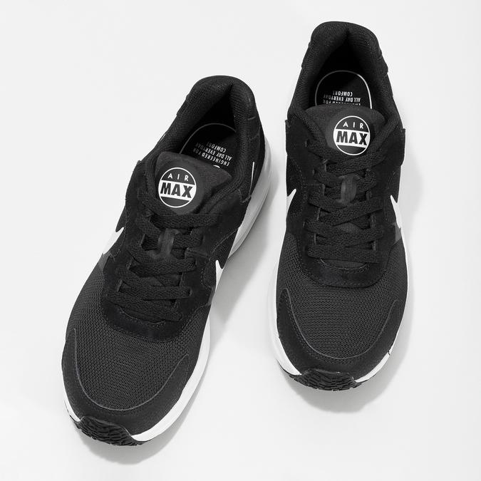Czarne trampki damskie Air Max nike, czarny, 509-6868 - 16