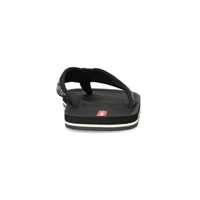 Czarne japonki męskie bata-red-label, czarny, 879-6613 - 15