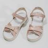 Różowe sandały dziewczęce zkryształkami mini-b, różowy, 361-5612 - 16