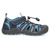 Granatowe sandały dziecięce mini-b, niebieski, 461-9606 - 19