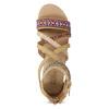 Sandały zpaskami wstylu etno bullboxer, beżowy, 361-8611 - 17