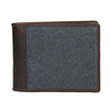 Portfel męski ze skóry oraz materiału tekstylnego bata, niebieski, 949-9603 - 26