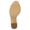 Białe sandały na srebrnych słupkach, 761-5619 - 18