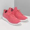 Różowe dzianinowe trampki damskie power, różowy, 509-5211 - 26